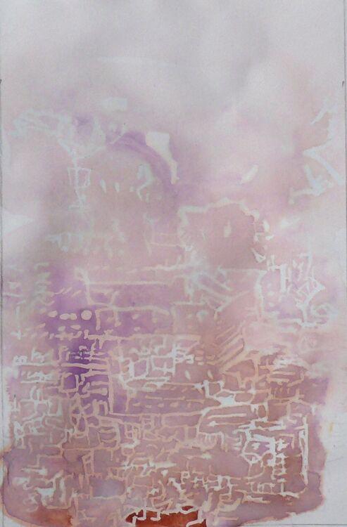 Grow, ink on paper 15x10cm