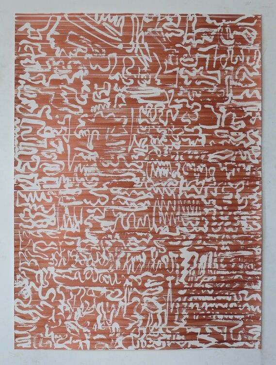 City Lines ink on paper 76x56cm 2021