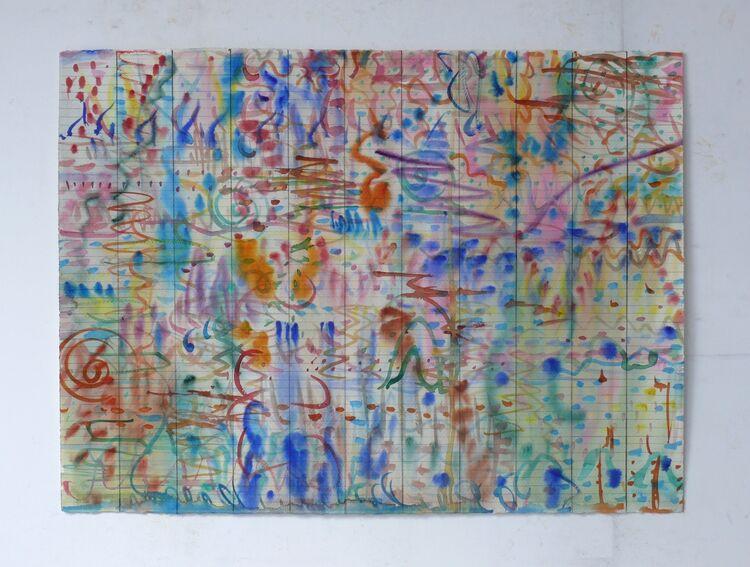 watercolour 76x56cm