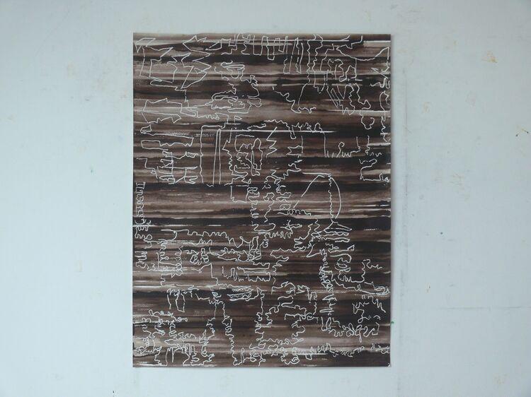 City Line, 65x50cm ink on paper 2021