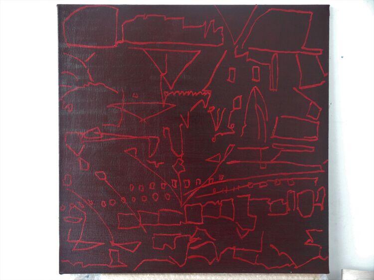 oil on canvas 60x60cm 2021