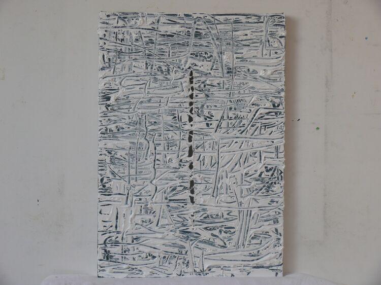 acrylic on canvas, 45x35cm 2021