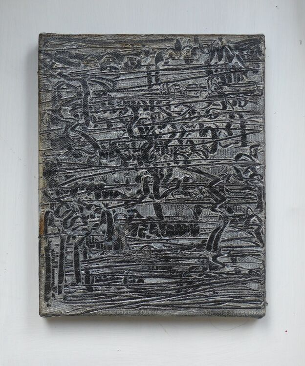 Small City 7, oil on canvas 25x20cm 2020