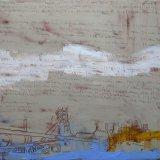 refulget labores nostros coelum 1, oil on canvas 100x120cm