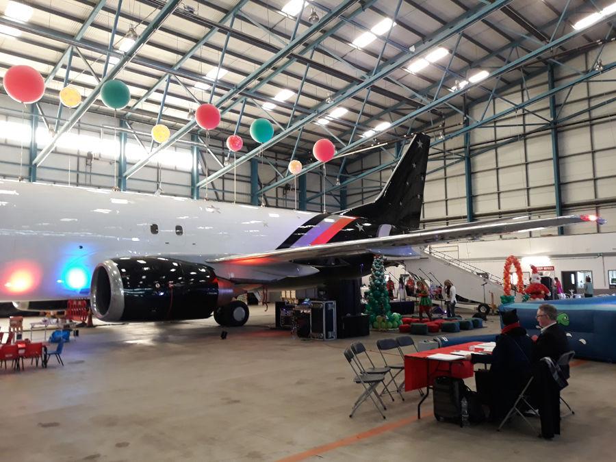 Titan Airways event