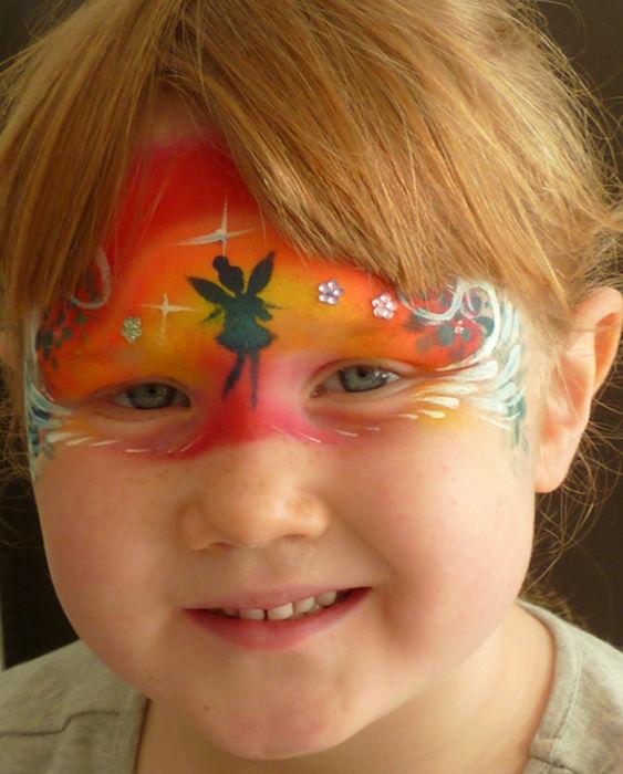 fairy face art
