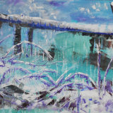 Frozen grass Annecy