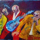 Rocking band.