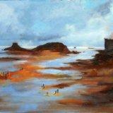 Sea retreats, St Malo