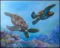 Green Turtles I