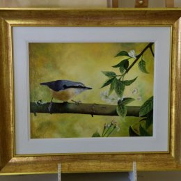 Springtime Nuthatch [SOLD]
