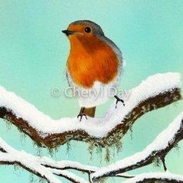 Winter Robin original