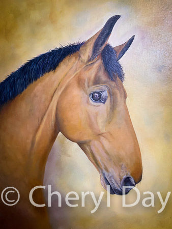 Original oil painting private commission