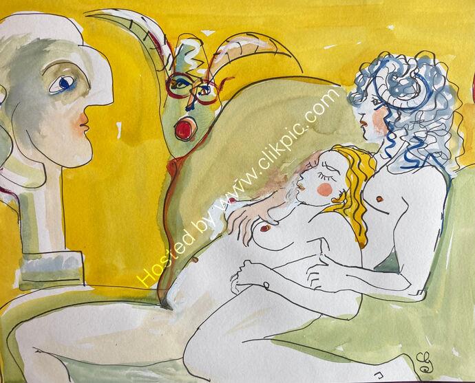 Minataur Dreams of Picasso