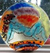 C.Gould Glass platebowl  11.18.46