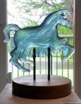 "Medieval Horse  h- 12""x13"""