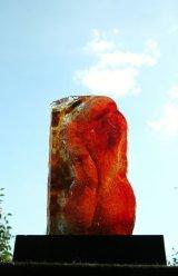 C.Gould  sand cast glass Torso  01.21.17