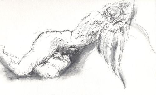 Icarus sleeping