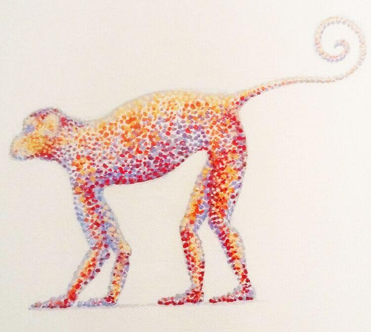Seurat's Monkey