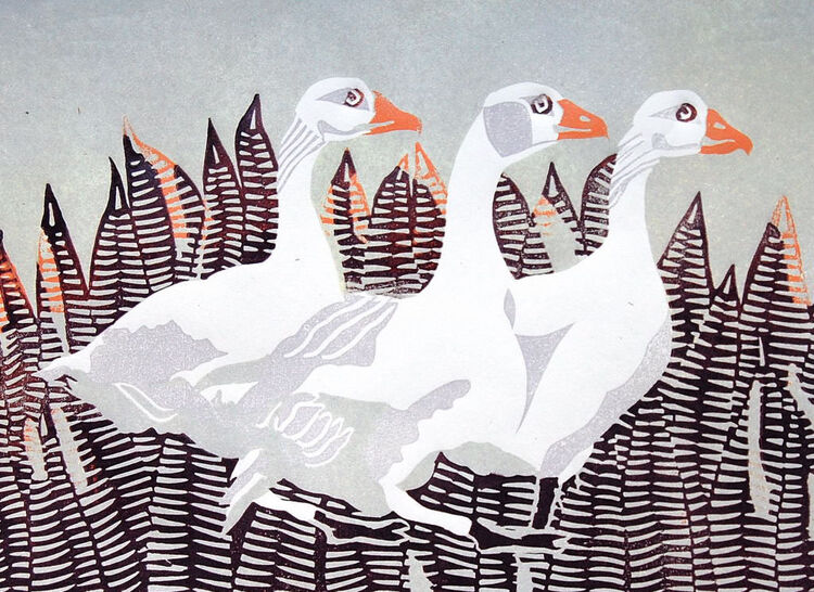 Joan's Geese first variation