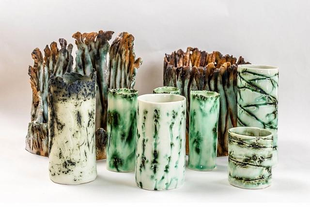 Gill Ellison ceramic work