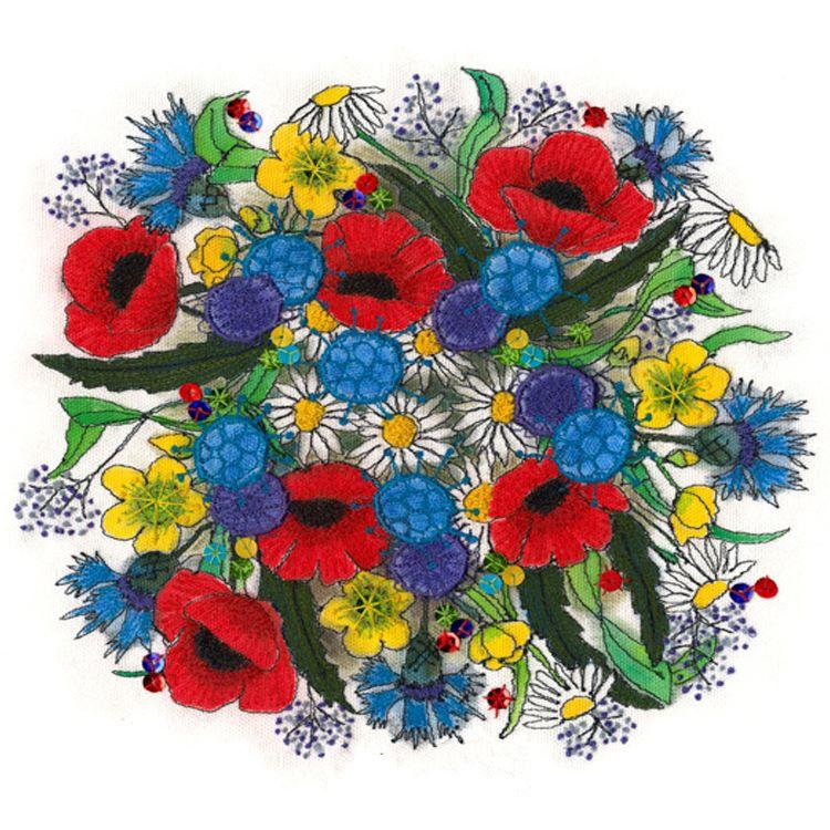 Joanne Frankel Wild Flowers Posie
