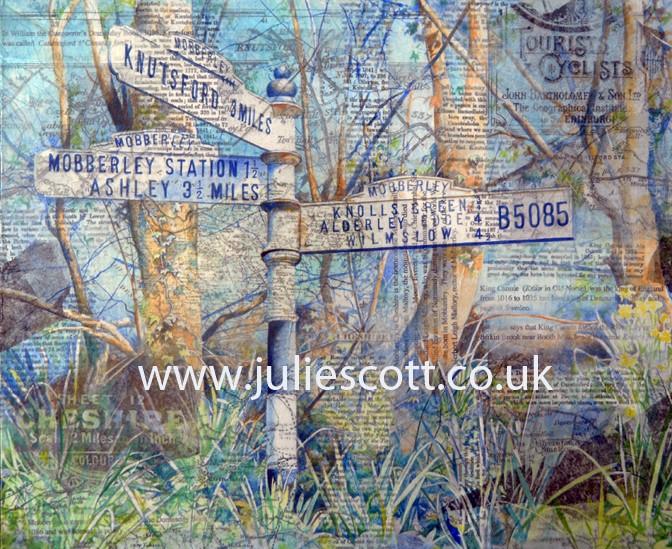 Julie Scott Mobberley Knutsford Signpost