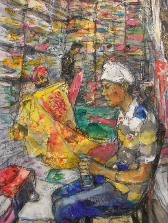 A Family business, India mixed media