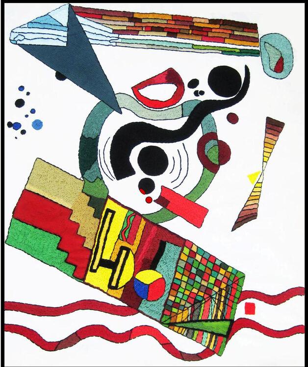 Bauhaus stitch