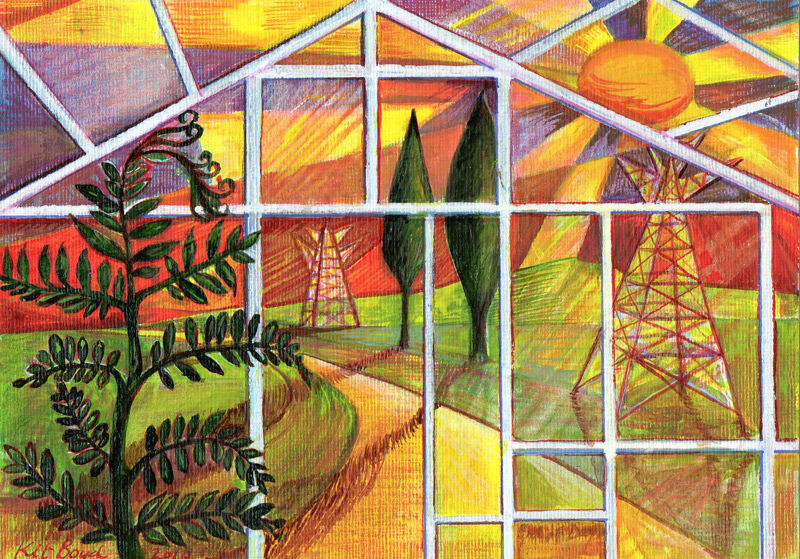 Greenhouse Series - End of Day