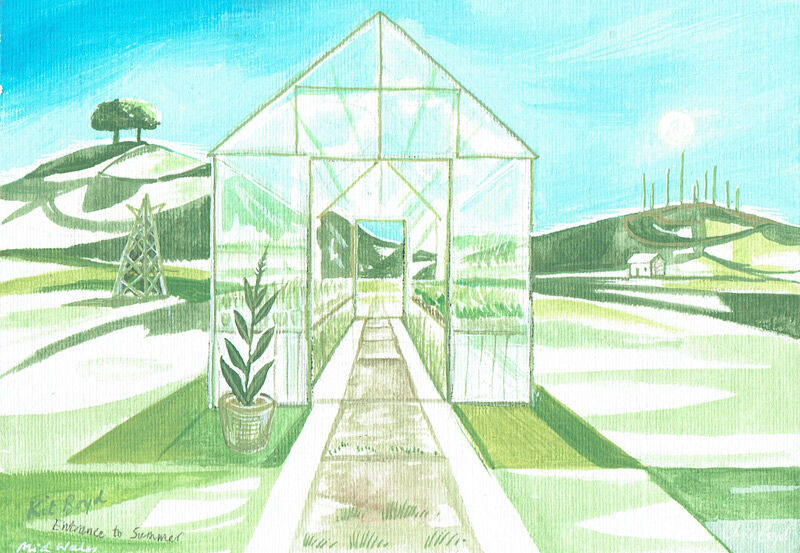 Greenhouse Series - Entrance to Summer