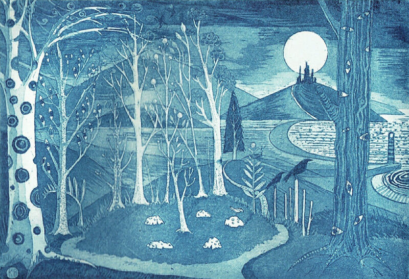 The Sacred Grove (Blue)