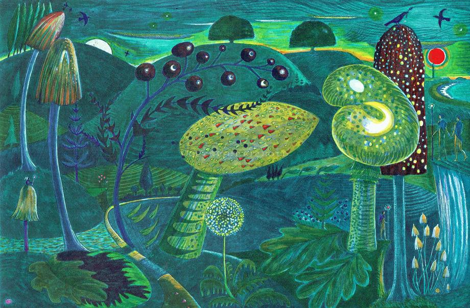 Magic Mushrooms - Subterranea