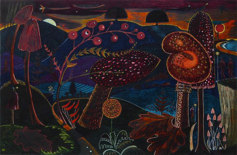 Magic Mushrooms (Aflame)