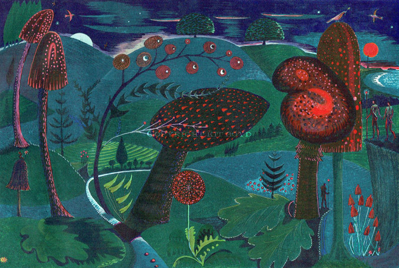 Magic Mushrooms (Twilight Dusk)