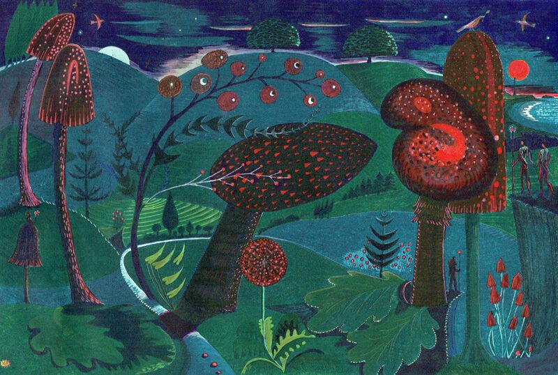 Magic Mushrooms (Twilight Dusk)