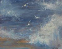 Wheeling Gulls 3, Sold