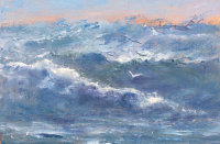 Stormy Sea Oil