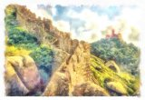 The Moorish Castle Sintra Portugal