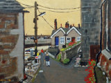 An Alleyway, Mousehole