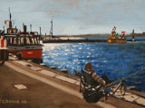 Fishing on Poole Quay
