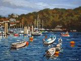 Boat Moorings, Fowey