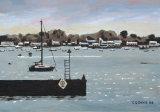 Poole Harbour Scene
