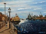 Poole Quay, Contre Jour Effect