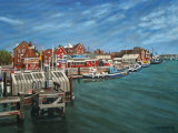 Poole Quay From Hamworthy Bridge