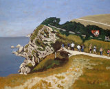 Looking Into Stair Hole, Lulworth (1)