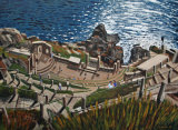 The Minack Theatre (Viewed From Above)