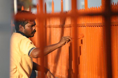 Port Blair fence