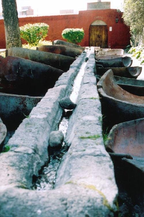 peru monastry gutter