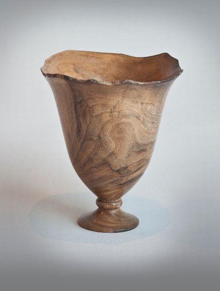Walnut goblet